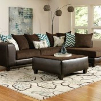 Reggae Vibes 2-Piece Sectional Sofa