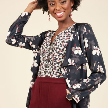 Intelligent Intentions Blazer | Mod Retro Vintage Jackets | ModCloth.com