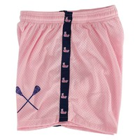 Pink Whale Girls Lacrosse Shorts - Adult