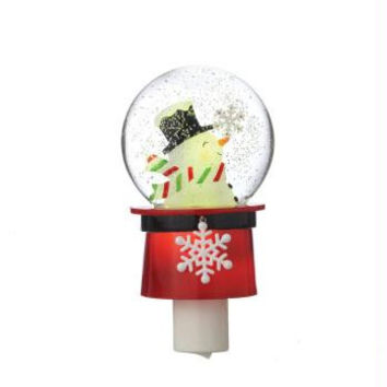 Christmas Night Light - Swivel Base Compatible With Any 120v Outlet Regardless Of Orientation