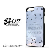 Twenty One Pilots Goner DEAL-11471 Apple Phonecase Cover For Iphone 6 / 6S
