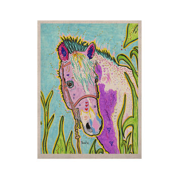 "Rebecca Fischer ""Nemo"" Horse KESS Naturals Canvas (Frame not Included)"