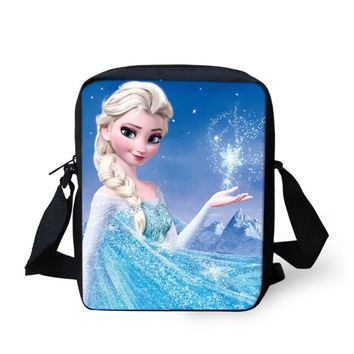 Elsa ( Frozen) Girls or Womens Messanger Bag / Purse /School Bag