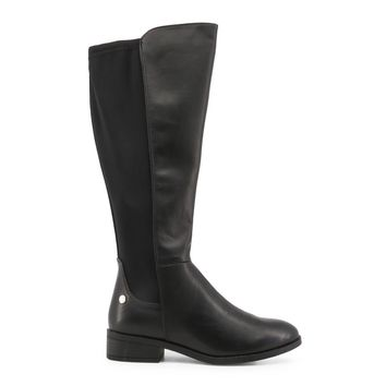 Xti- Round Tow Low Heel Boots