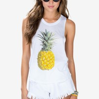 Fresh Pineapple Muscle Tee