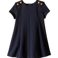 Chloe Kids Milano Dress w/ Buttons Details (Toddler/Little Kids)
