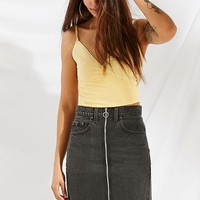 Urban Renewal Recycled O-Ring Levi's Denim Mini Skirt | Urban Outfitters
