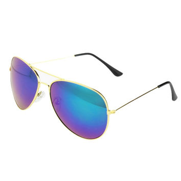 2016 Fashion Style Hot 80s Vintage Womens Mens Mirror Lens Unisex Sunglasses 8 Color xmas a2