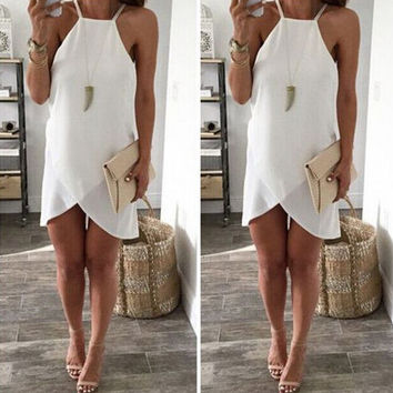 Womens Sleeveless Chiffon Dress Gift 59