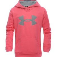 Under Armour Girls' Storm Big Logo Hoodie - Dick's Sporting Goods
