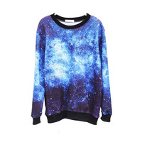 funshop — Sky Night Sweater Shirt for Women