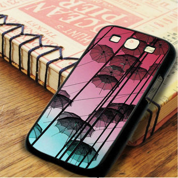 Umbrella Sky Pink Samsung Galaxy S3 Case