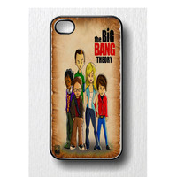 The big bang theory Iphone case for iphone 4 or iphone 4S