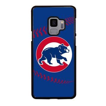 CHICAGO CUBS BASEBALL LOGO Samsung Galaxy S4 S5 S6 S7 S8 S9 Edge Plus Note 3 4 5 8 Case Cover
