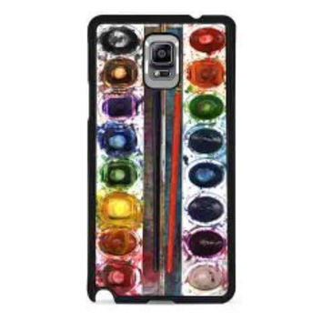 Watercolor Set for samsung galaxy note 4 case