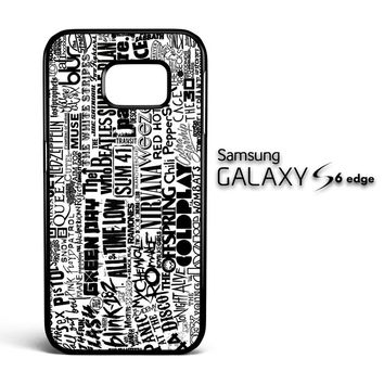 You Me At Six Quote All time low Y0404 Samsung Galaxy S6 Edge Case