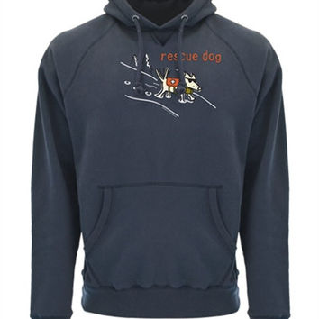 Rescue Dog Embroidered Hoodie