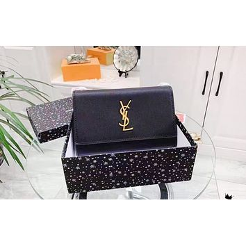 YSL fashionable lady simple and pure color shopping bag hot selling casual shoulder bag