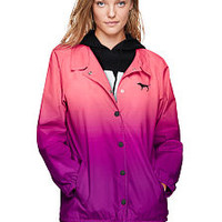 Sherpa Lined Coaches Jacket - PINK - Victoria's Secret