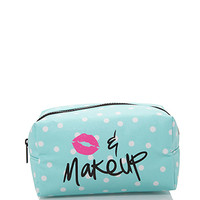 FOREVER 21 Kiss & Makeup Pouch