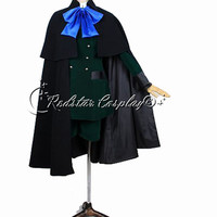 Black Butler  Ciel Phantomhive Cosplay Costume - Custom made in Any size