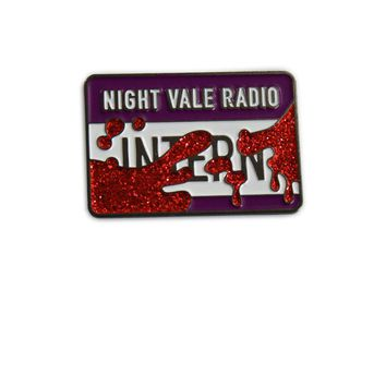 Night Vale Radio Intern Pin