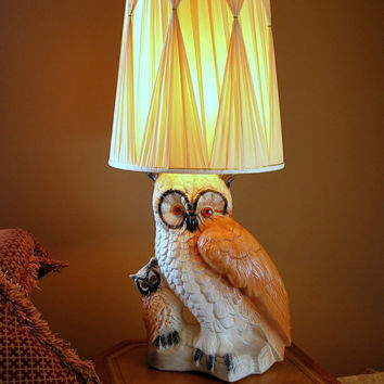 Best Vintage Owl Lamps Products On Wanelo