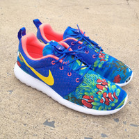 "Custom Nike Roshe Run ""Finding Nemo"" Freestyle"