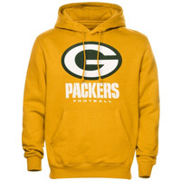 Green Bay Packers Critical Victory Pullover Hoodie - Gold