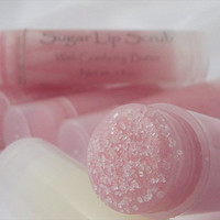 Sugar Lip Scrub Cranberry butter and sugar scrub exfoliator for lips