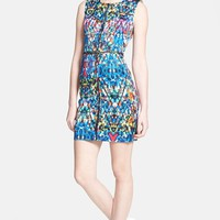 Milly Print Body-Con Dress