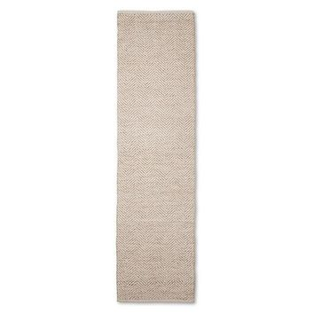 Threshold™ Metallic Herringbone Accent Rug : Target