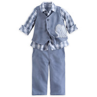 Dumbo Deluxe Shirt, Vest and Pants Set for Baby
