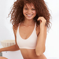 Aerie Real Me Bralette, Creme Blue
