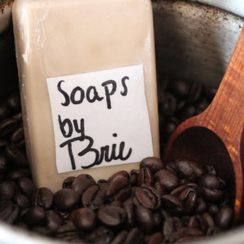 Vanilla Bean Coffee Soap