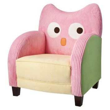Circo® Chloe & Conner Love and Nature Owl Chair