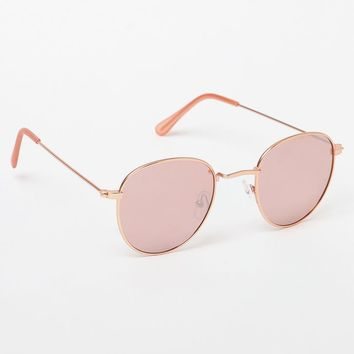LA Hearts Lennon Round Sunglasses at PacSun.com