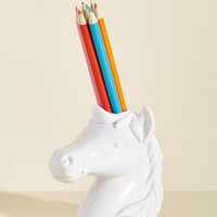 Back to the Drawing Horn Pencil Holder | Mod Retro Vintage Desk Accessories | ModCloth.com