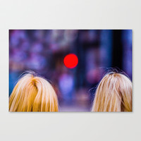 Blondes Are Not Allowed Canvas Print by Digital2real