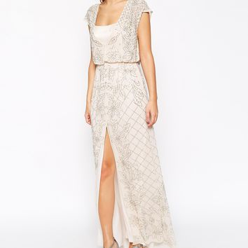 Needle & Thread Embellished Aura Maxi Dress