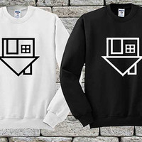 The Neighbourhood Symbol Black White sweater Sweatshirt Crewneck Men or Women Unisex