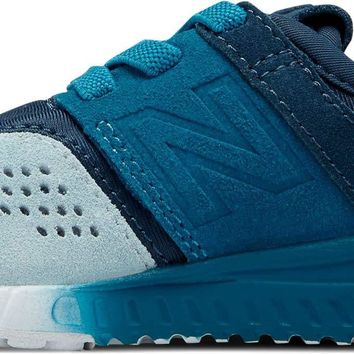 New Balance Kids' 247v1 Hook and Loop Sneaker