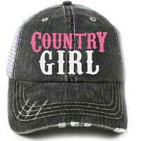 Katydid Country Girl Women's Trucker Hat