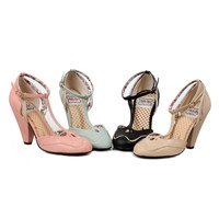 Ellie Shoes E-BP403-Annalise 4 inch closed toed heel