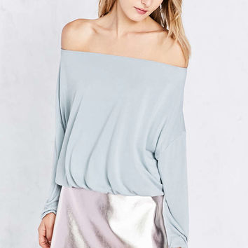 Silence + Noise Free Bird Dolman-Sleeve Off-The-Shoulder Top - Urban Outfitters