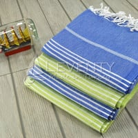 FREE & EXPRESS SHIPPING Fouta Towel Set of 4 Sea Beach Towel Bridesmaid Favor Summer Towel Blanket Gift for Her Womens Sundress Summer Cloth