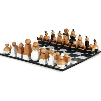 Lanvin - Wooden chess set