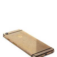 24k Gold & Swarovski Encrusted Black or White iPhone 6