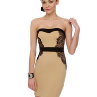 Utterly Irresistible Strapless Dress