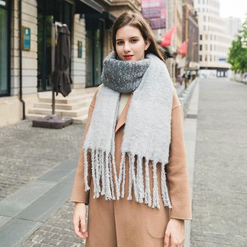 Tassels Korean Scarf [280546476073]